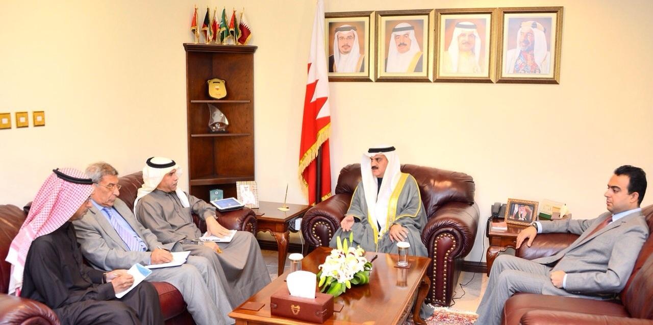 لقاء الإدارة مع رئيس مجلس النواب 25 فبراير 2015