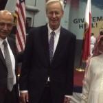وفد الجمعية البحرينية للشفافية يشارك في احتفالات السفارة الامريكية بمناسبة اليوم الوطني